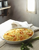 Carrot gratin with cheese