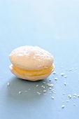 Macaroon with coconut