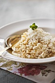 Risotto al limone (lemon risotto with Parmesan, Italy)