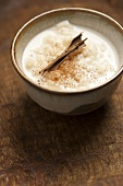 Arroz con leche (rice pudding with cinnamon, Latin America)