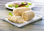 Napkin dumplings