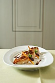Fried spring chicken breast
