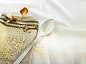 Ingredients for arroz caldoso (Spanish rice dish)