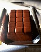 A chocolate tray cake