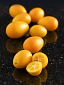 Several kumquats