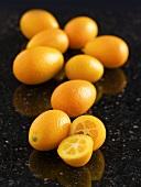 Mehrere Kumquats