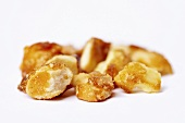 Almond brittle with butter