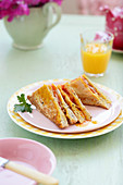Jaffles (toasted sandwiches)