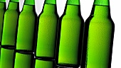 Seven green bottles of beer