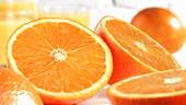 Halbierte Orangen