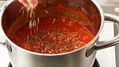 Making tomato sauce (German Voice Over)