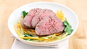 Poached beef fillet (German Voice Over)