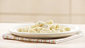 Gnocchi with Gorgonzola sauce