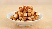 Croutons being made (English Voice Over)