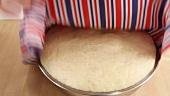 Pre-risen yeast dough
