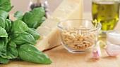 Zutaten für Pesto