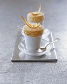 Iced Amaretto soufflé
