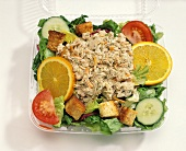 Tuna and orange salad