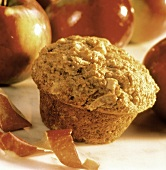 Apple Cinnamon Muffin; Fresh Apples