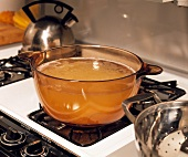 Pot of Water on the Stove