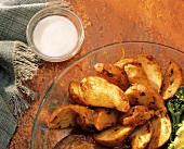 Potato Skins with Dip