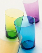 Colorful Empty Glasses