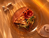 Grilled Swordfish with Orange Sauce