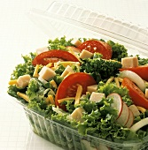 Chef's Salad in Plastic Container