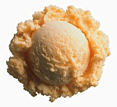 Scoop of Orange Sherbet