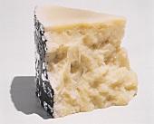 Wedge of Pecorino Romano cheese
