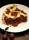 Slice of Cherry Pie; Lattice Crust