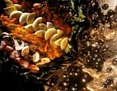 Christmas Appetizer Salad Platter