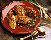 Chicken Breasts with Honey Glaze
