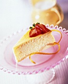 A Slice of NY style Cheesecake