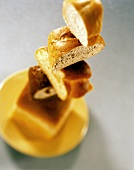 Tower of Bread Wedges