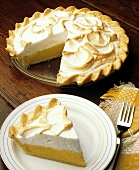 Lemon Meringue Pie and a Slice