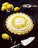 Whole Lemon Meringue Pie; Lemon Zest