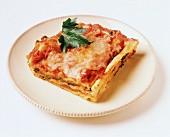 Lasagne vegetariane (Vegetable lasagne, Italy)