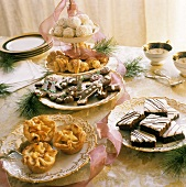 Assorted Desserts for Christmas