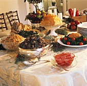 Large Buffet for Christmas