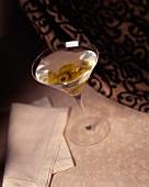 Martini in a Martini Glass