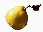 Eine gelbe Birne