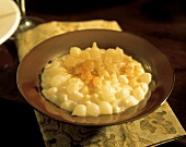 Bowl of Creamed Onions
