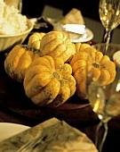 A Gourds Centerpiece