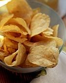 A Full Bowl of Potato Chips