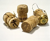 Four Champagne Corks