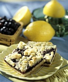 Two Lemon Blueberry Bars