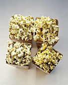 Four Boxes of Flavored Popcorn