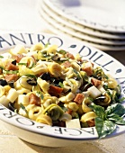 Tortellini Salad with Cheese and Sausage