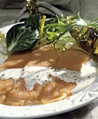 Veal Carpaccio with Dressing